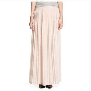 Mossimo pleated maxi skirt